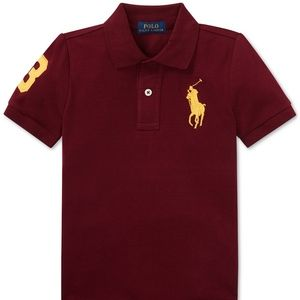 Polo Ralph Lauren Toddler Boys Cotton Mesh Polo